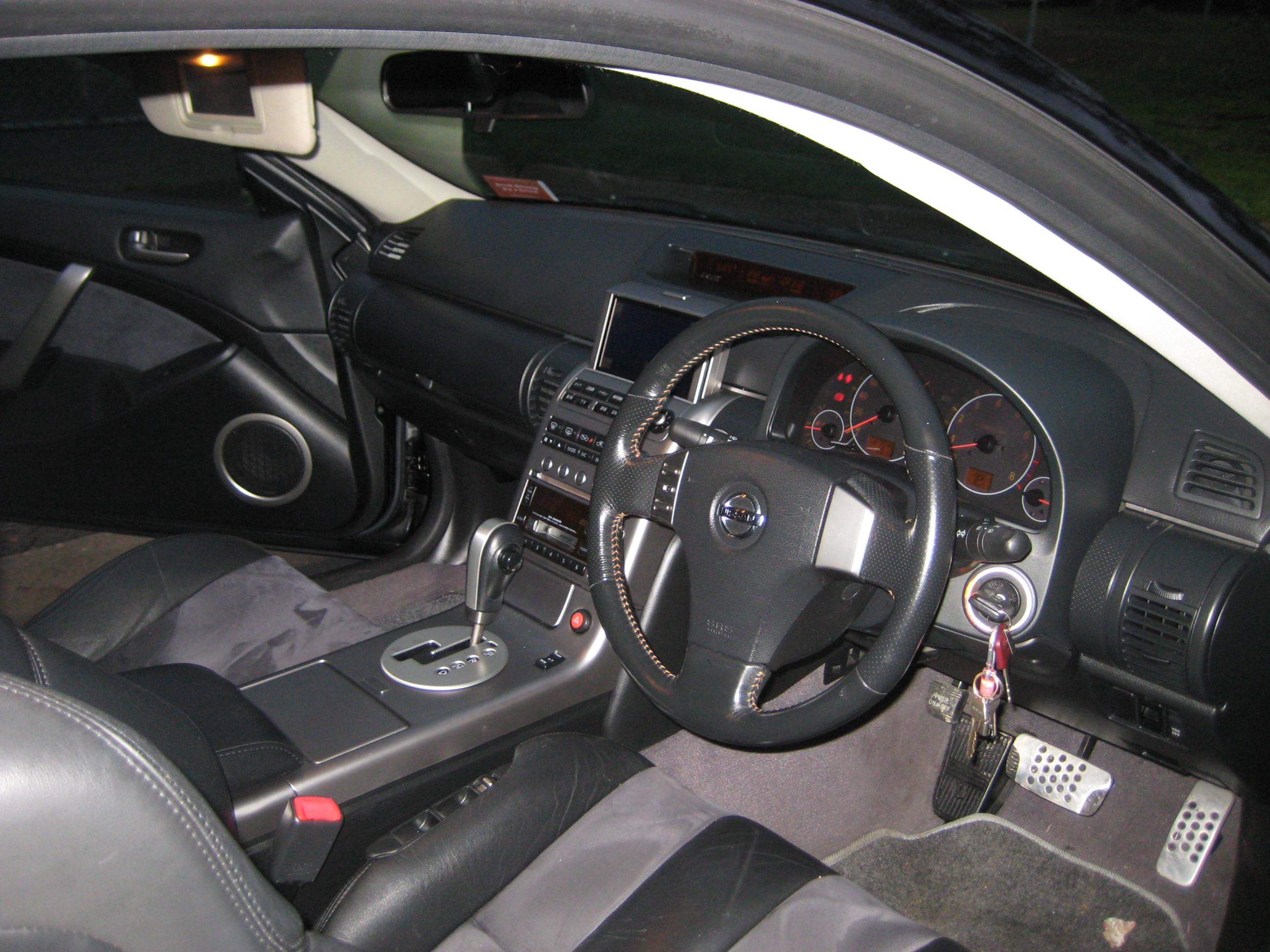 V35 Dash and inside