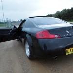 a V35 back