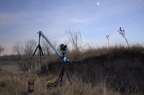 Image of timelapse setup from dakotalapse on flickr.
