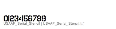 USAAF_Serial_Stencil